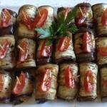 Auberginen-Tomate Antipasti